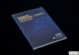 中国金融业发展趋势报告画册设计千赢pt手机客户端